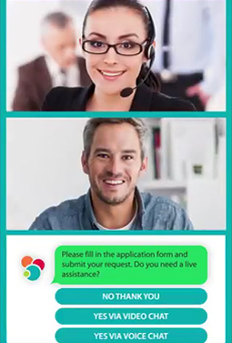 MyBank Chatbot and Video Chat
